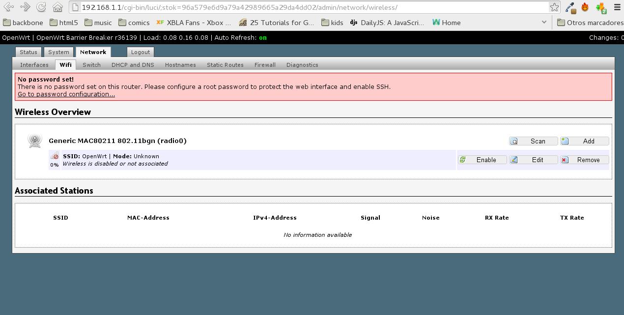 Instalación de OpenWRT en nuestro router casero
